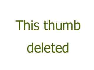 Granny in a leather skirt and big knickers
